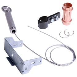 冷媒銅管用変位吸収継手 支持金具・保温材